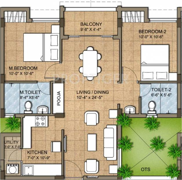 1000 sq ft 2 bhk floor plan image kg builders good for 1000 sq ft apartment plans