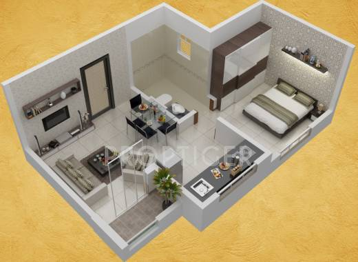 550 sq ft 2 bhk 2t apartment for sale in saarrthi group for 450 square foot apartment floor plan
