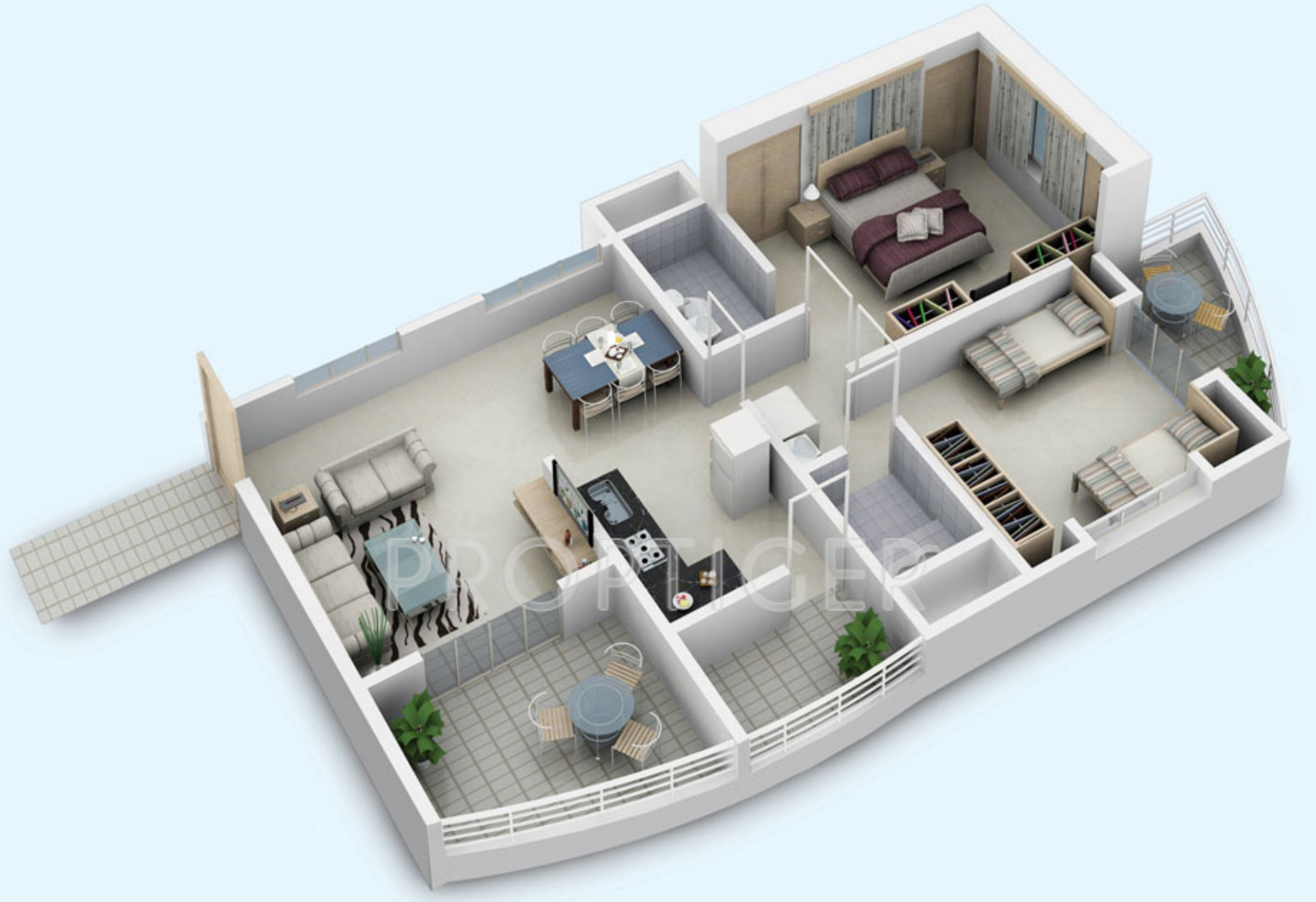 900 sq ft 2 bhk 2t apartment for sale in builders combine for Floor plans 900 sq ft apartment