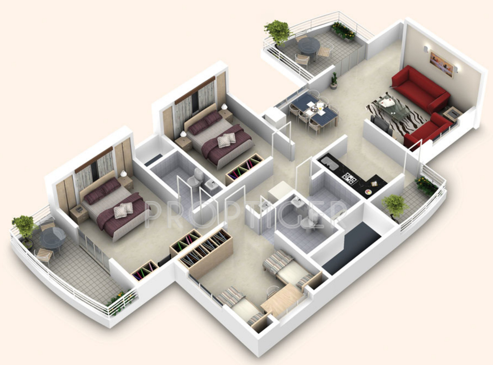 Marvelous Small 2 Bedroom House Plans #4: Builders-combine-bella ...