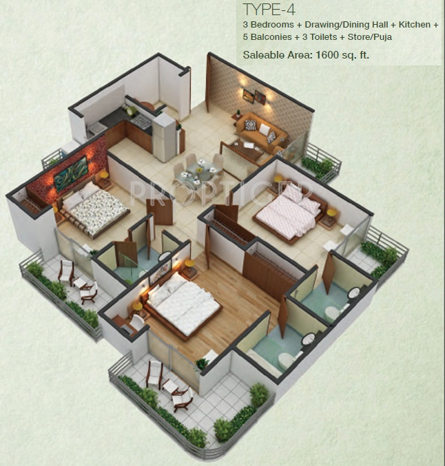 Modern Home Designs From Interior Decorators In Noida  C2NyYXBlLTEtRzRDVGZ4: Fusion Homes In Techzone 4, Noida