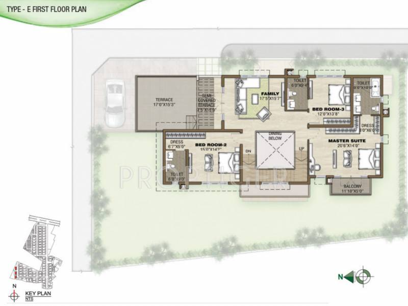Prestige Silver Springs (4BHK+6T (5,120 sq ft) + Pooja Room 5120 sq ft)