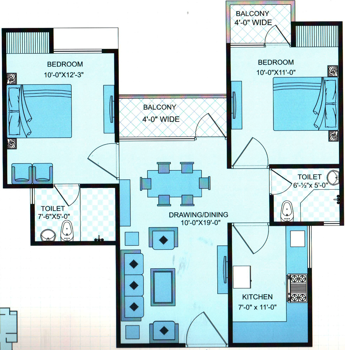 925 Sq Ft 2 Bhk 2t Apartment For Sale In Ssg Group Shankra