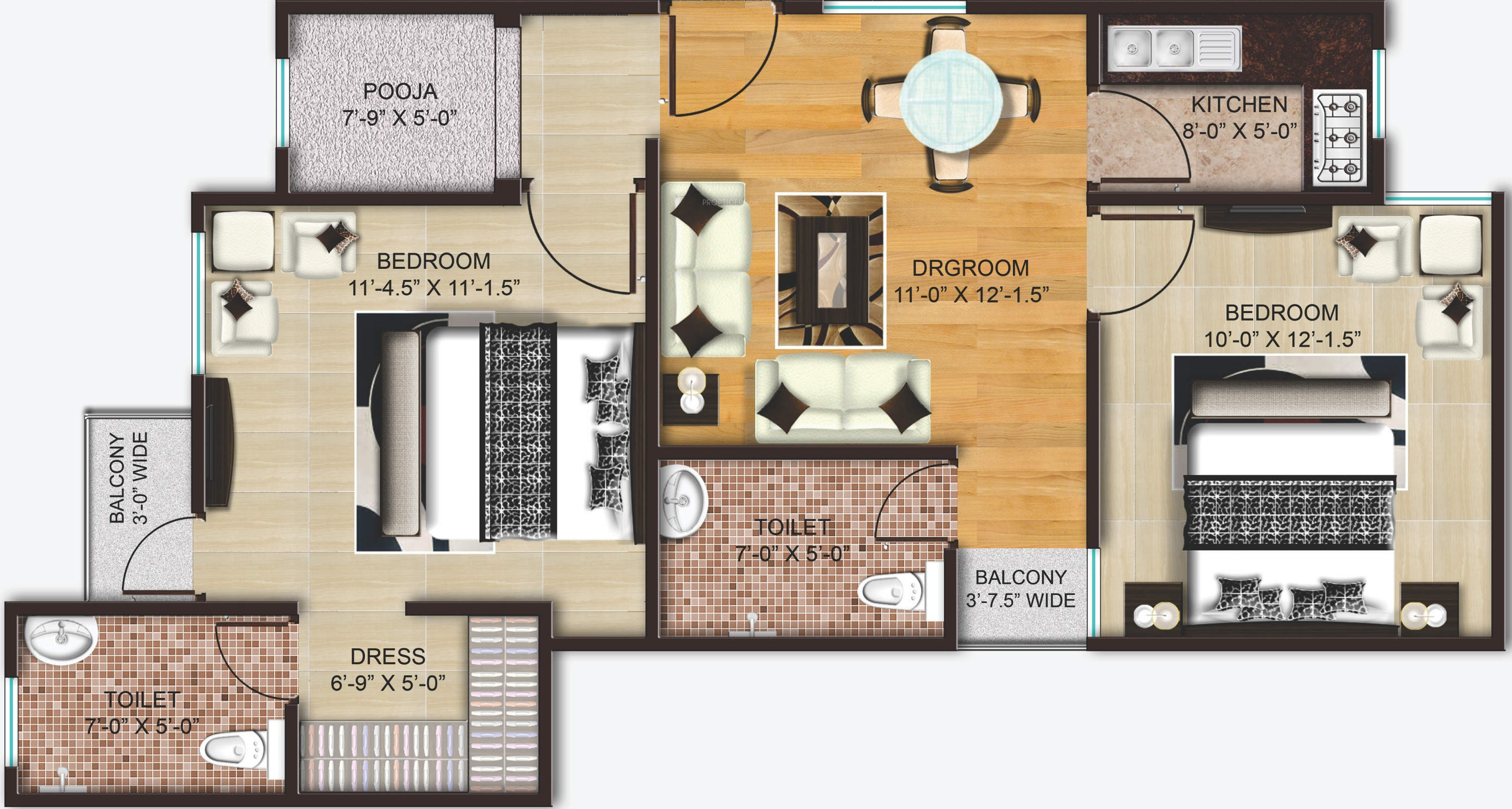850 sq ft 2 bhk 2t apartment for sale in akh royal 850 sq ft
