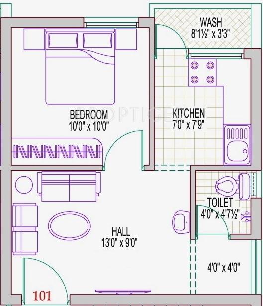 Ashok skanda in nanganallur chennai price location map for 540 sq ft