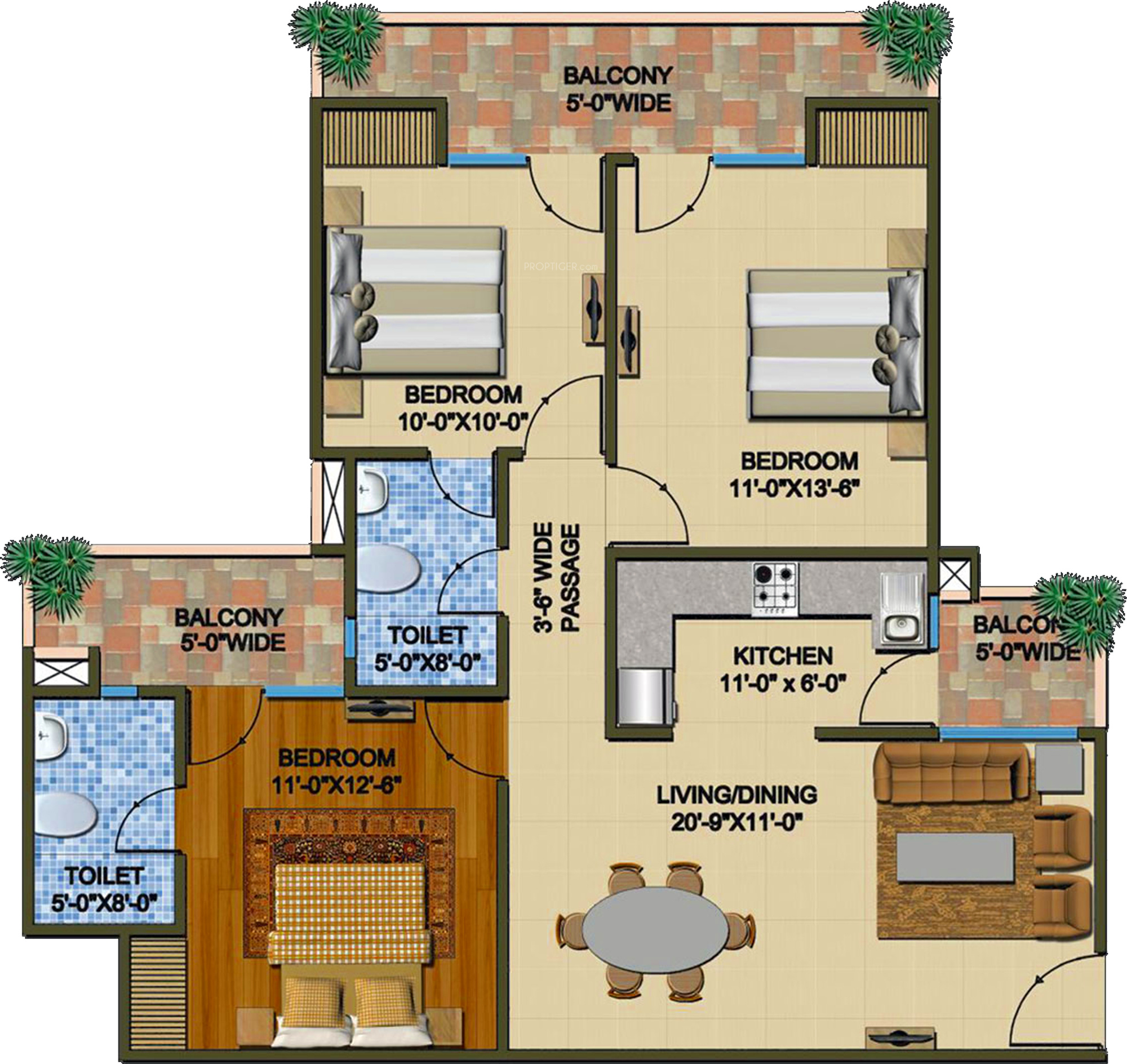 Peachy Supertech The Romano In Sector 118 Noida Price Location Map Largest Home Design Picture Inspirations Pitcheantrous