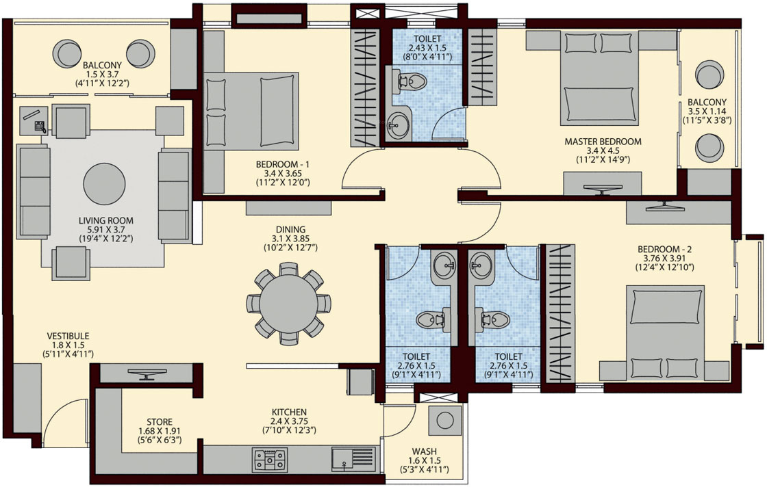 Ruchi lifescapes apartment in jahangirabad bhopal price for 12th floor apartments odessa