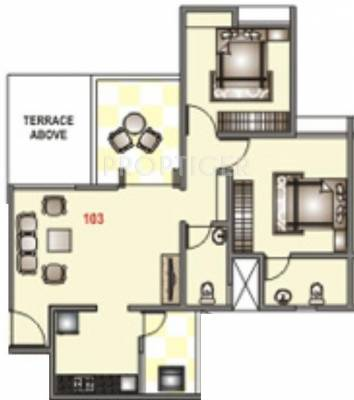 950 sq ft 2 bhk 2t apartment for sale in ravinanda for 950 sq ft