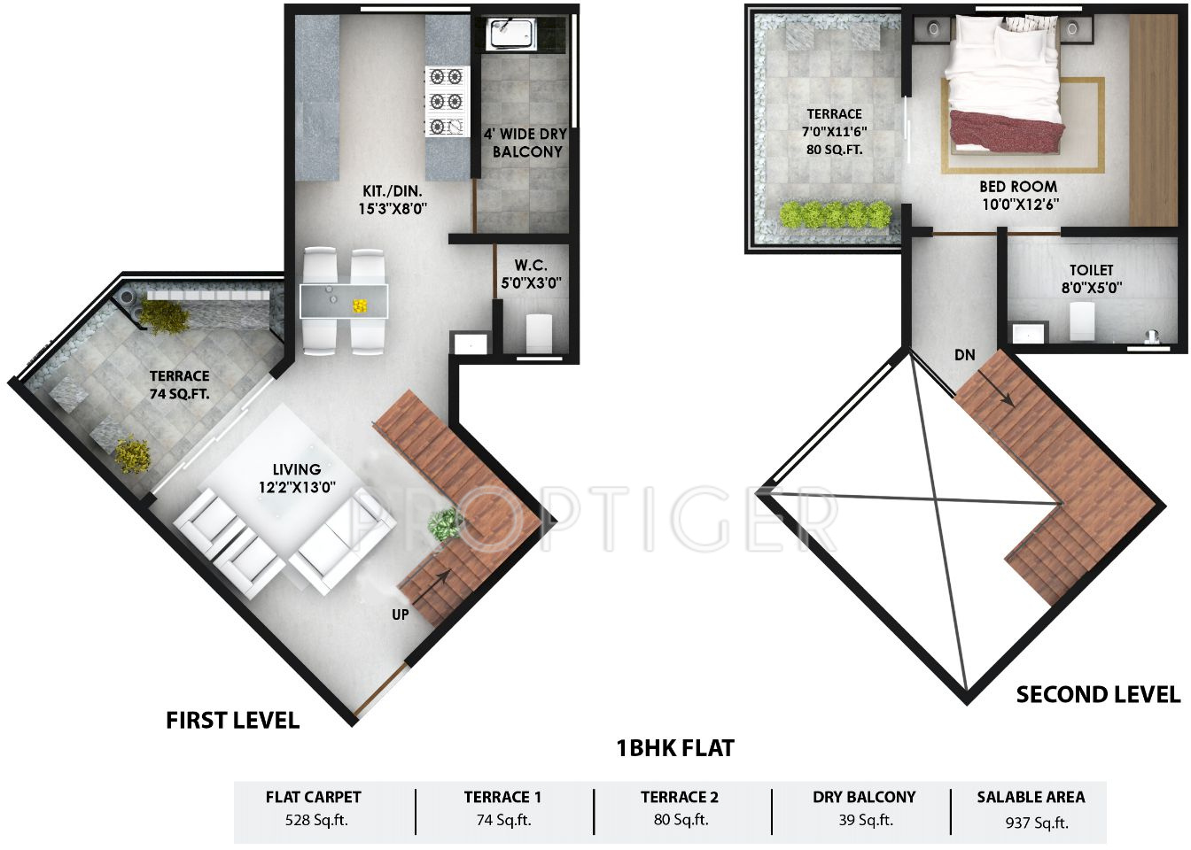 Prithvi presidio in hadapsar pune price location map for 1 bhk floor plan