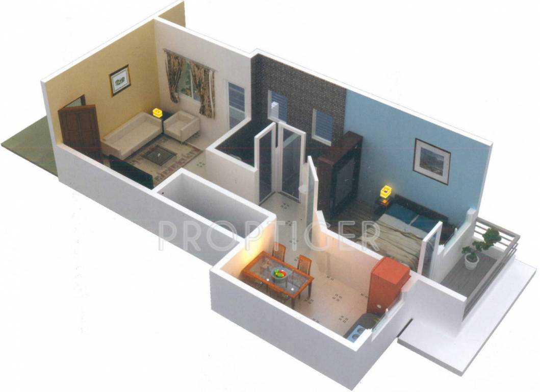 650 sq ft 1 bhk 1t apartment for sale in asian developer for 650 sq ft apartment floor plan