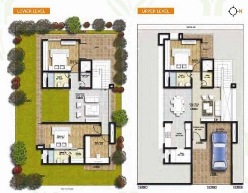 Connect Parkwood (3BHK+3T (2,300 sq ft) 2300 sq ft)
