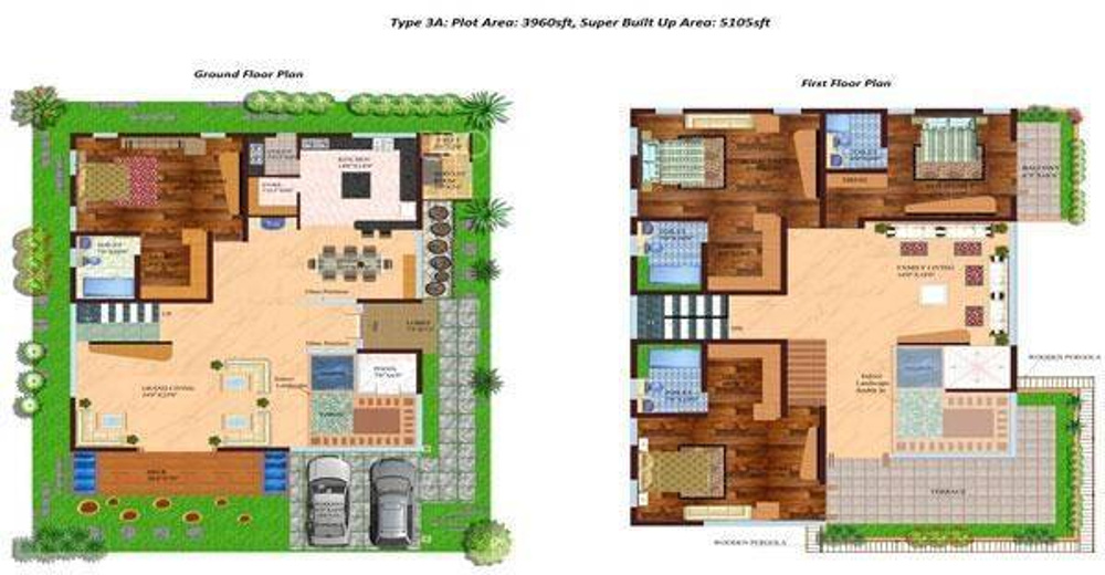 5105 sq ft 4 bhk 4t villa for sale in dhammanagi tulips for 4 bhk villas in bangalore