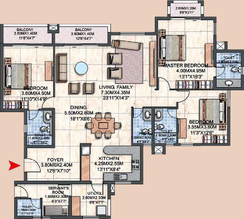 Prestige Silver Oak Apartment In Whitefield Hope Farm