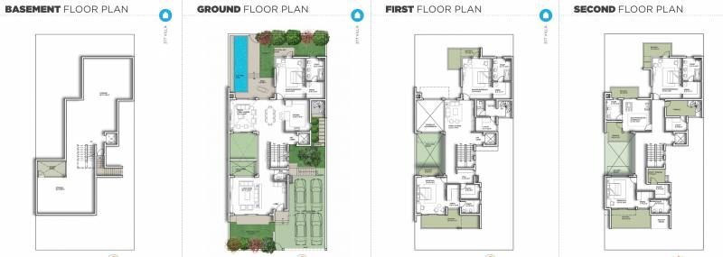 Experion The Westerlies (5BHK+7T (8,146 sq ft) + Servant Room 8146 sq ft)