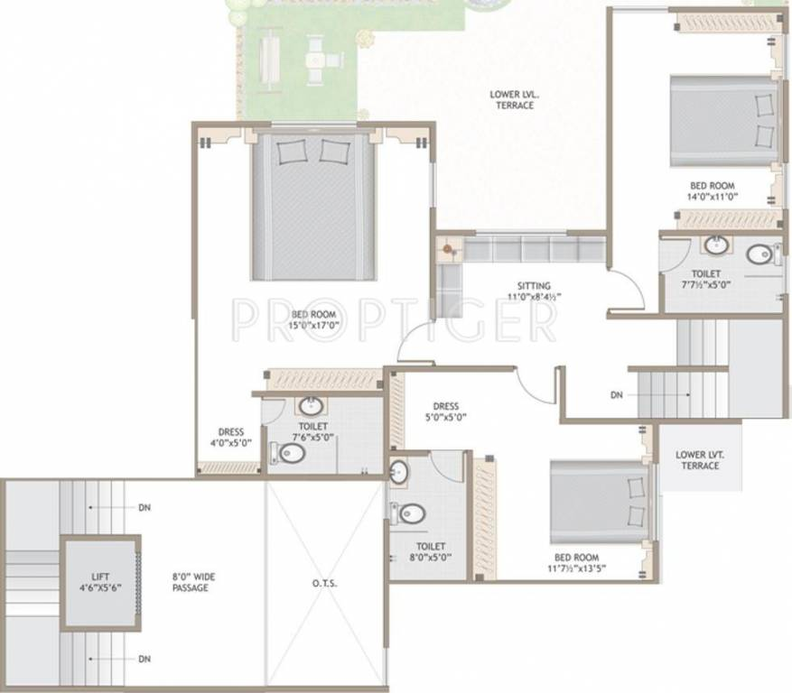 2700 Sq Ft 4 Bhk 4t Apartment For Sale In Milestone Infra: 2700 square foot house plans