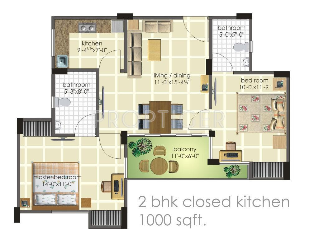 1000 sq ft 2 bhk 2t apartment for sale in harbinger group for 1000 sq ft apartment plans