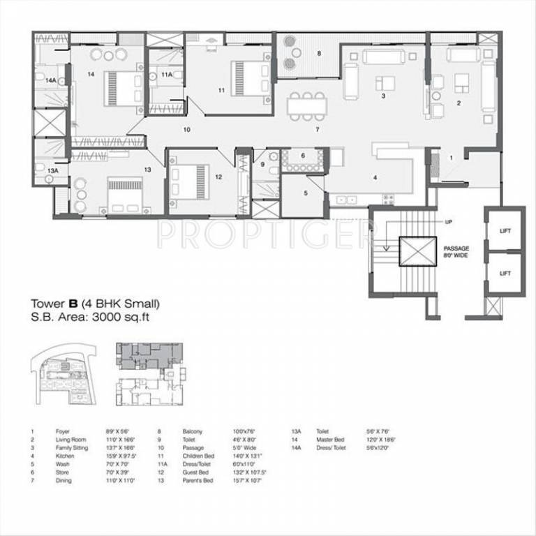 3000 sq ft 4 bhk 4t apartment for sale in nilamber group for 3000 sq ft apartment floor plan