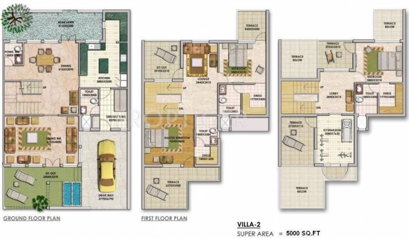 5000 sq ft 3 bhk floor plan image tivoli group holiday for 5000 sq ft floor plans