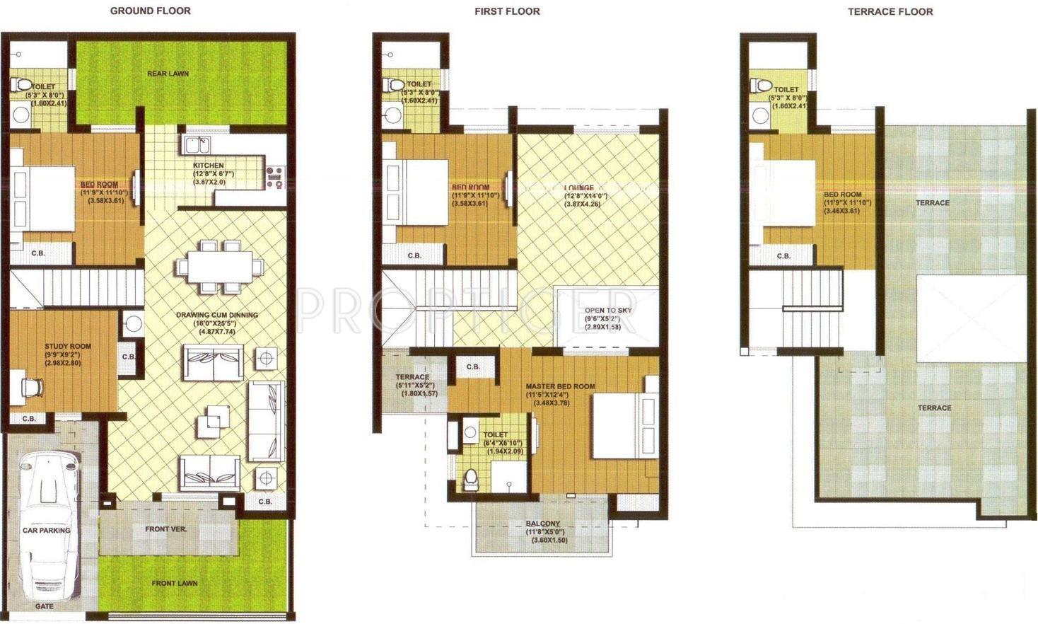 Ansal palm court villa in kanpur road jhansi price for 125 court street floor plans