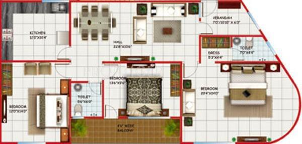 Shriram Arcade In Kolar Road Bhopal Price Location Map Floor Plan Reviews