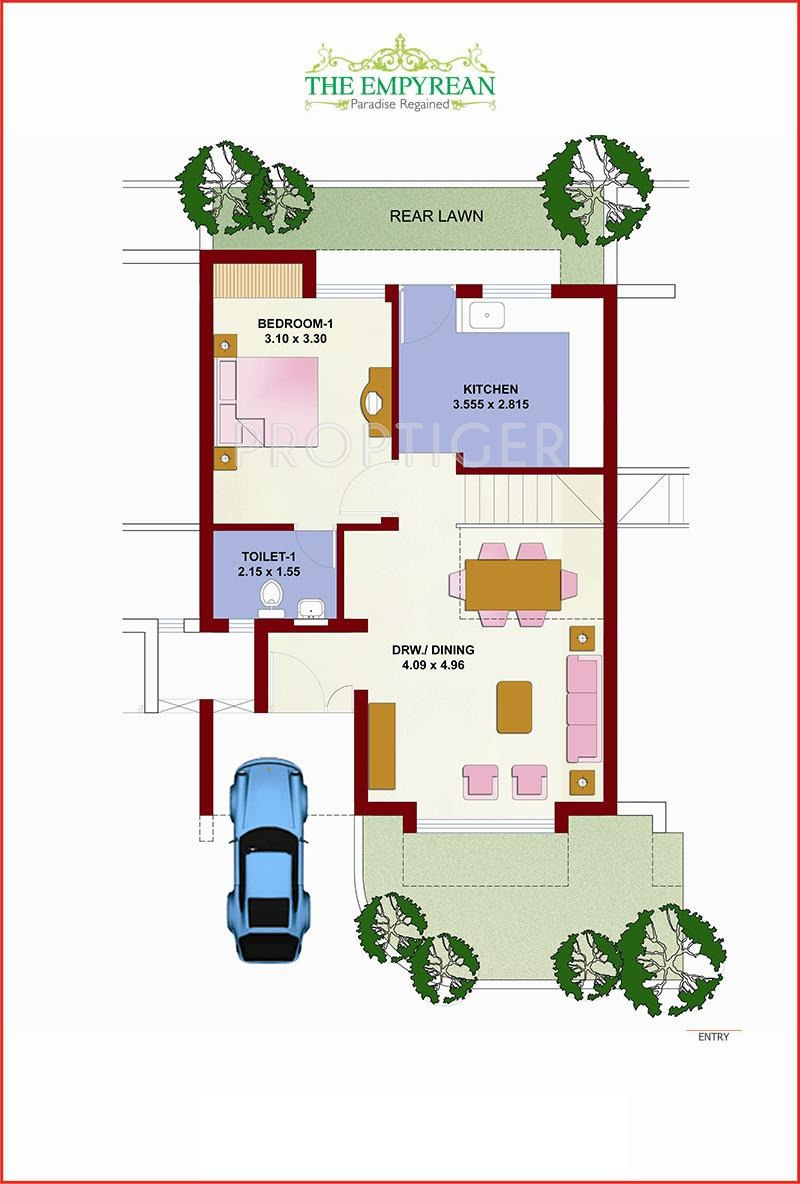 Fire serenity row house in mihan nagpur price location for Shoot house plans
