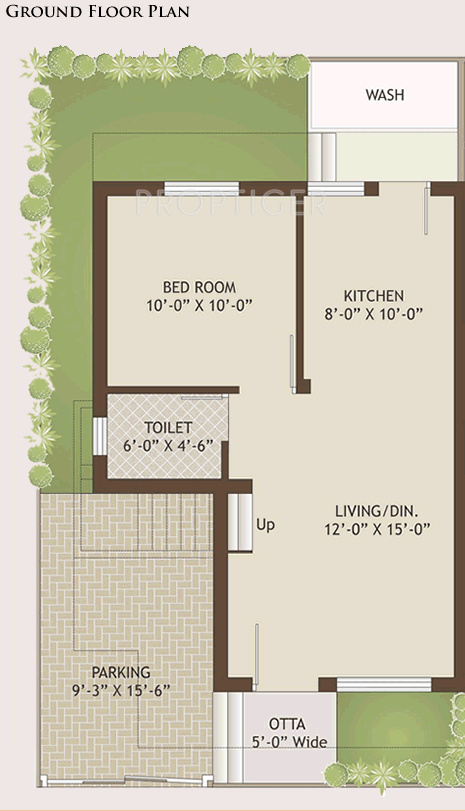 1850 sq ft 4 bhk ground floor plan 4bhk 3t 1850 sq ft for 4 bhk house plan ground floor