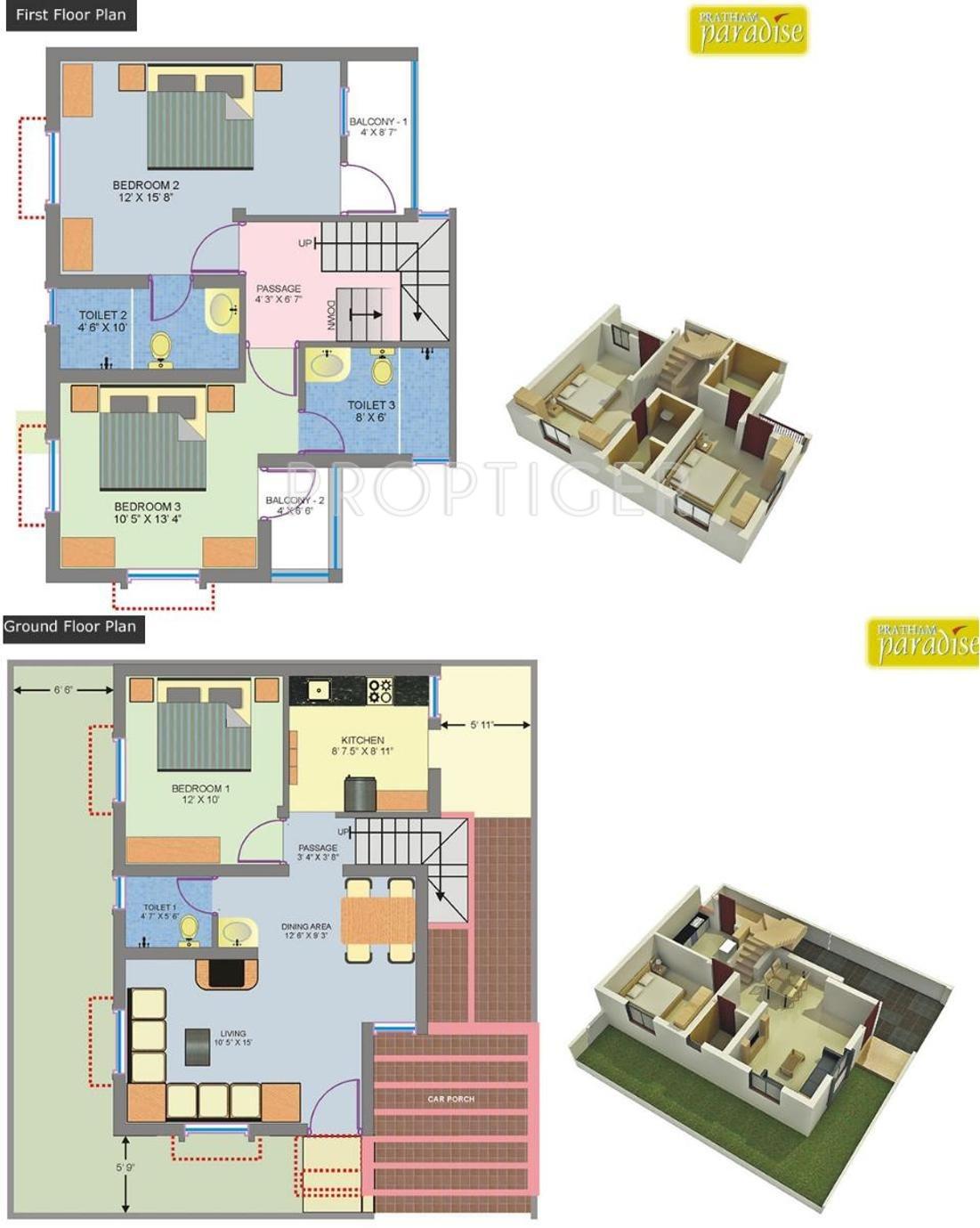Pratham paradise in makarpura vadodara price location for 1700 sq ft floor plans