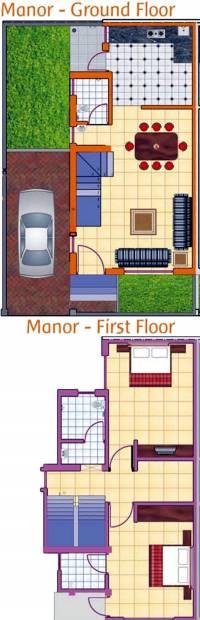 Pratham Residency (2BHK+3T (1,200 sq ft) 1200 sq ft)
