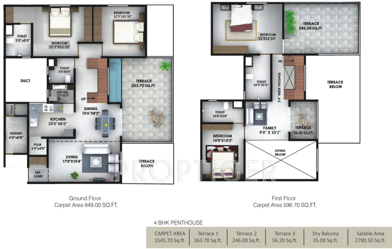 Prithvi presidio in hadapsar pune price location map for 4 bhk home design