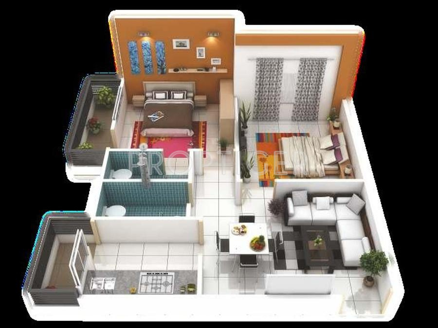 900 Sq Ft 2 Bhk 2t Apartment For Sale In Shri Parasnath