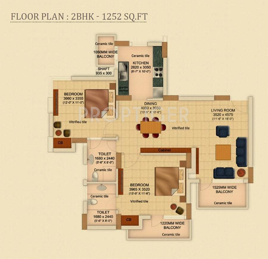 Geoworks 1000 trees in sector 105 gurgaon price for 1000 sq ft 2bhk house plans