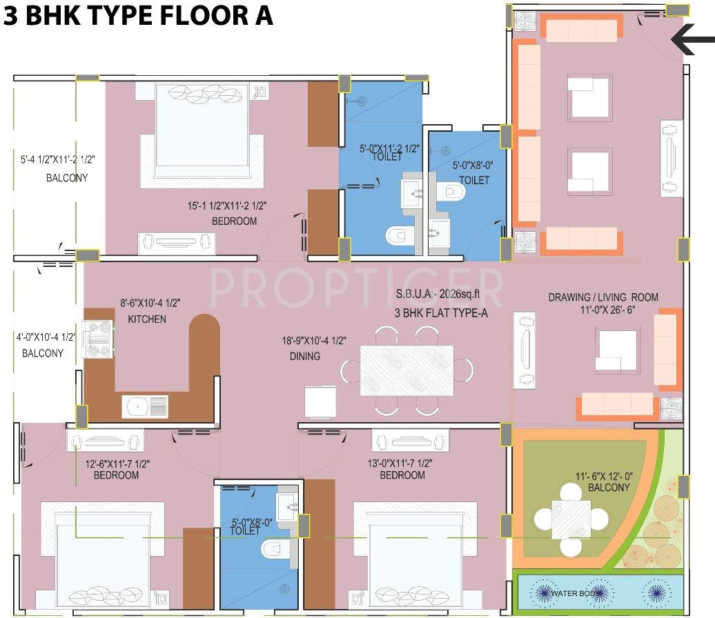 Vtp Solitaire 2 3 Bhk 2 Bhk Apartment Flat For Sale In Vtp Solitaire Baner Pune 996 2 Bhk