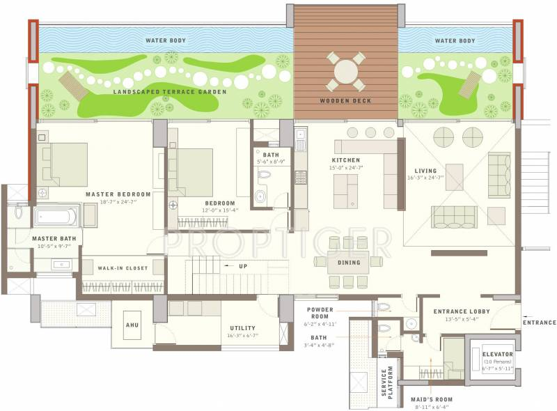 5924 Sq Ft 4 Bhk Floor Plan Image Total Environment