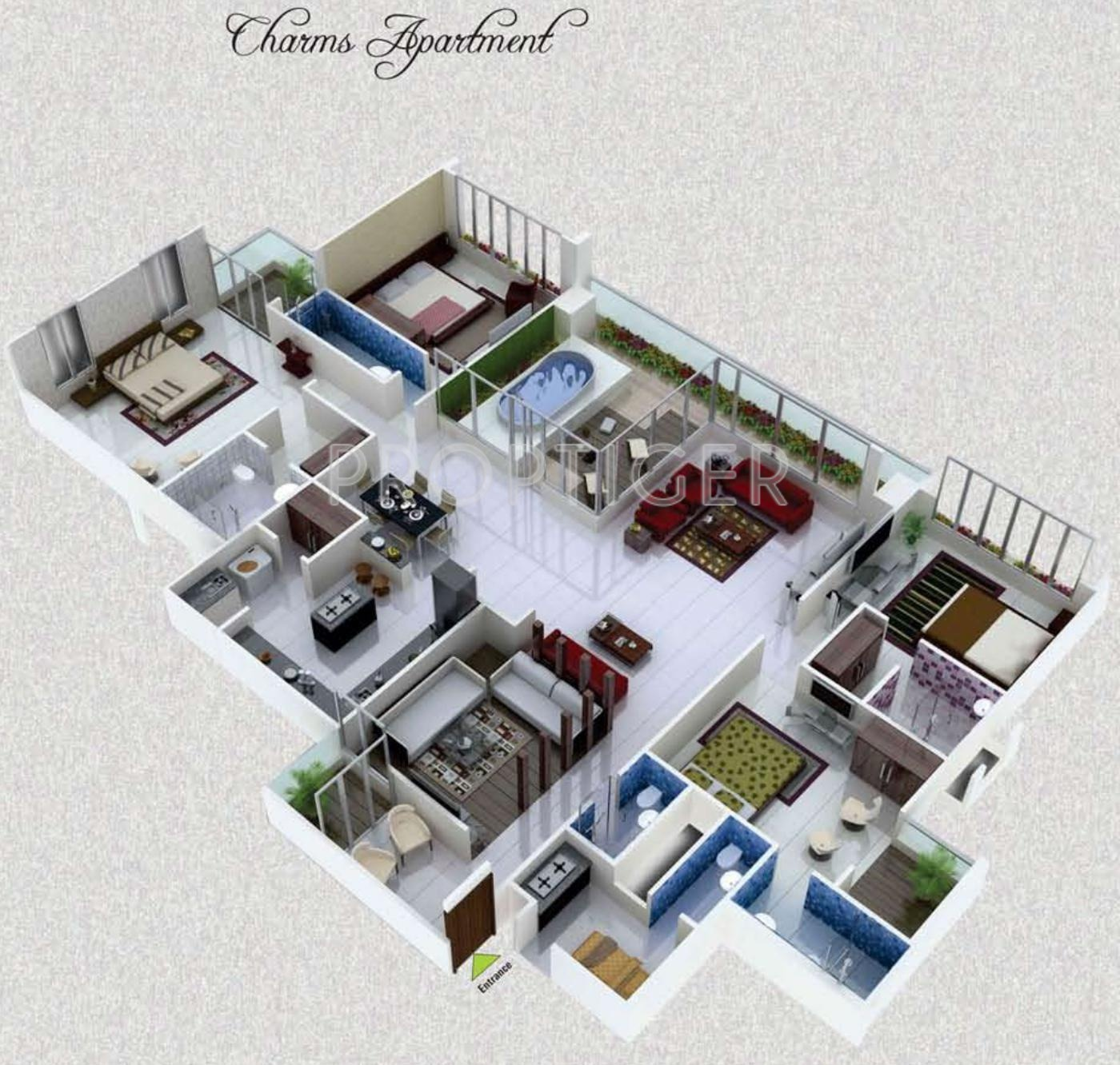 Vastu Rameshwaram City Appartment In Bhicholi Mardana