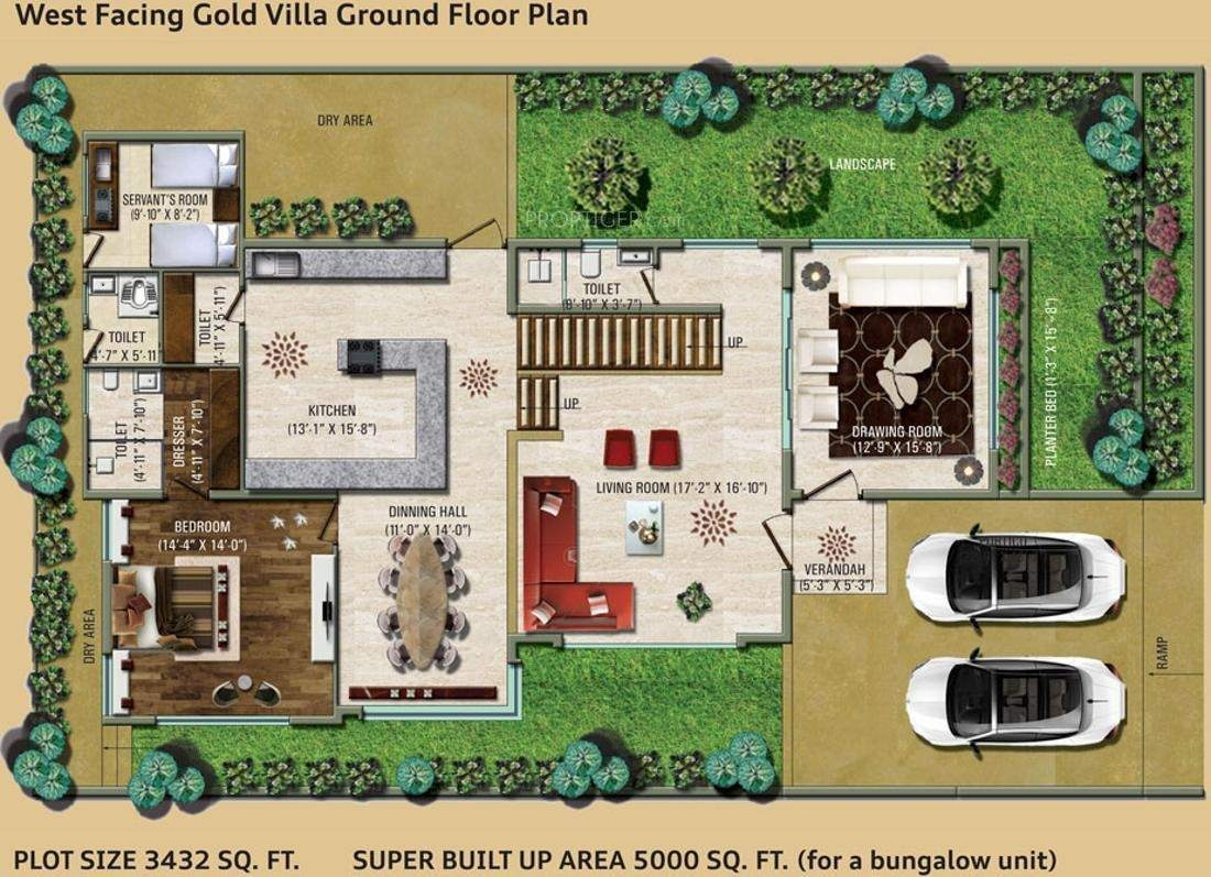 5000 sq ft 3 bhk 6t villa for sale in vastu developers for 5000 sq ft house plans in india