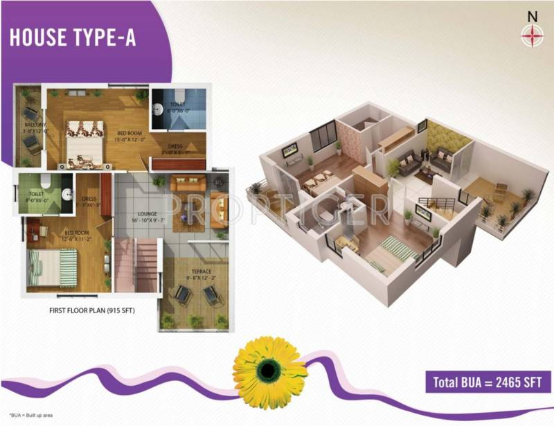 Kapis Shivam Greens (4BHK+4T (2,465 sq ft) 2465 sq ft)