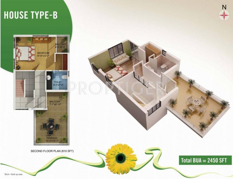 Kapis Shivam Greens (4BHK+4T (2,450 sq ft) 2450 sq ft)