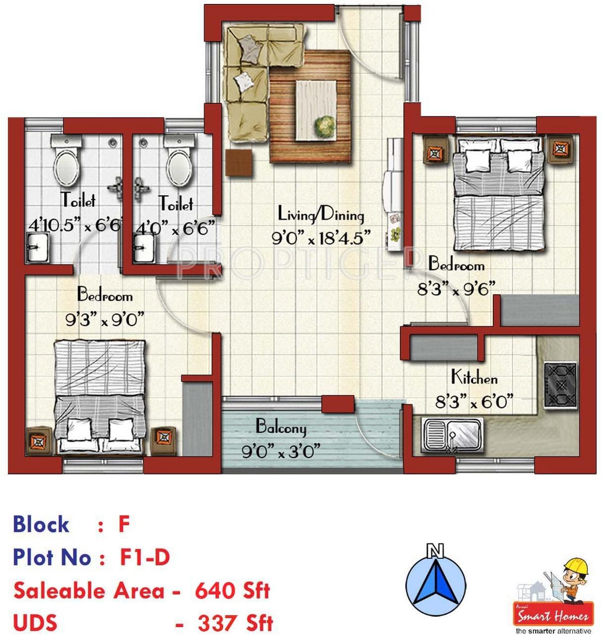 Annai arisha in vadavalli coimbatore price location for 640 square feet floor plan