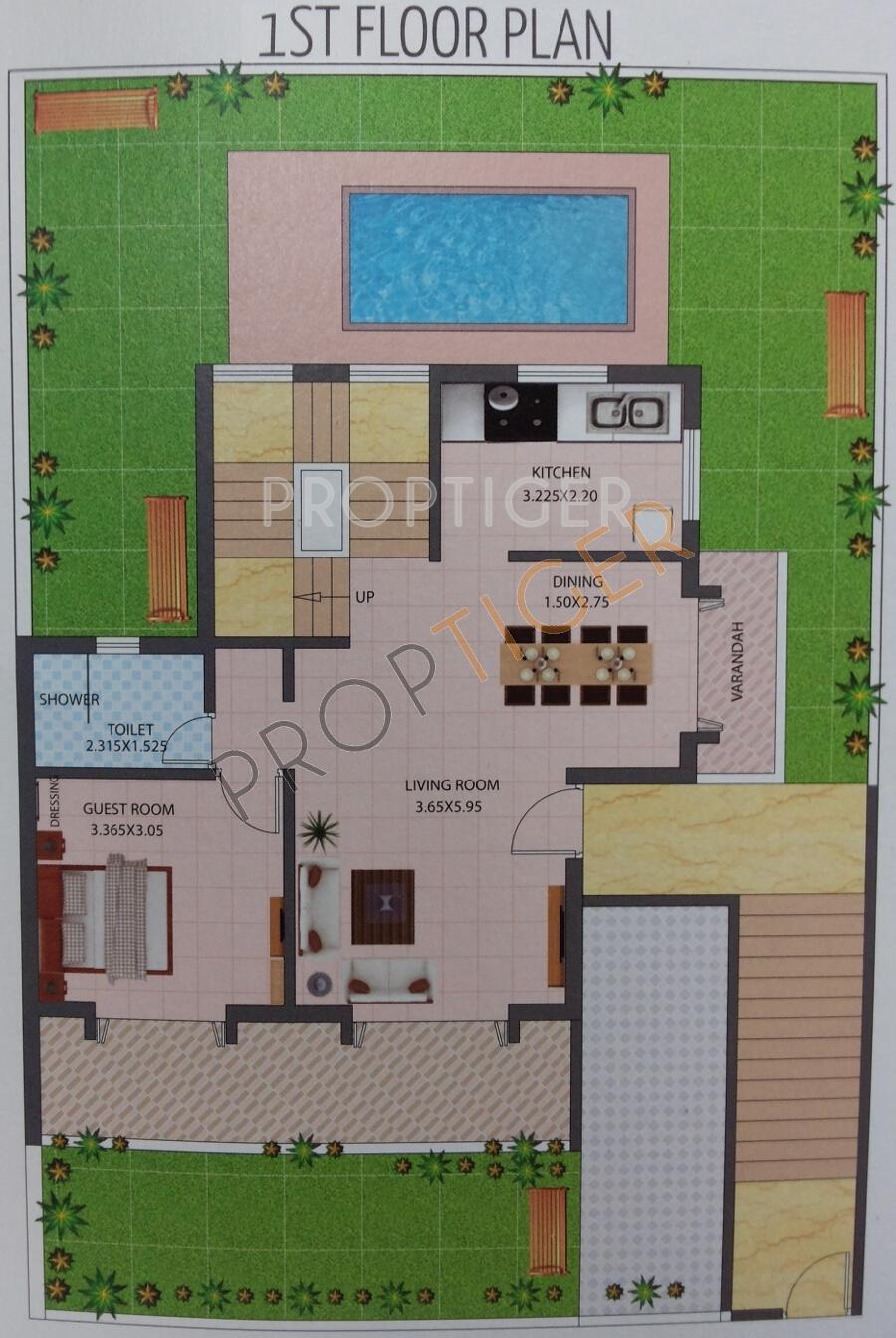 3000 Sq Ft 3 Bhk 4t Villa For Sale In Viscon Homes Meadows