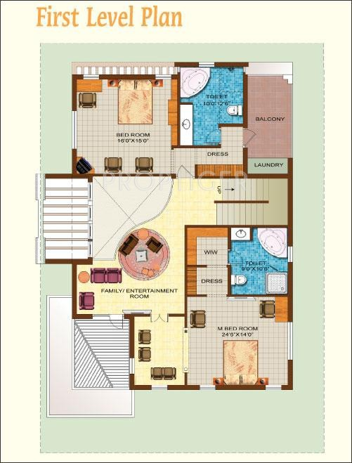4000 Sq Ft 4 Bhk 4t Villa For Sale In Sunrise Homes Ltd
