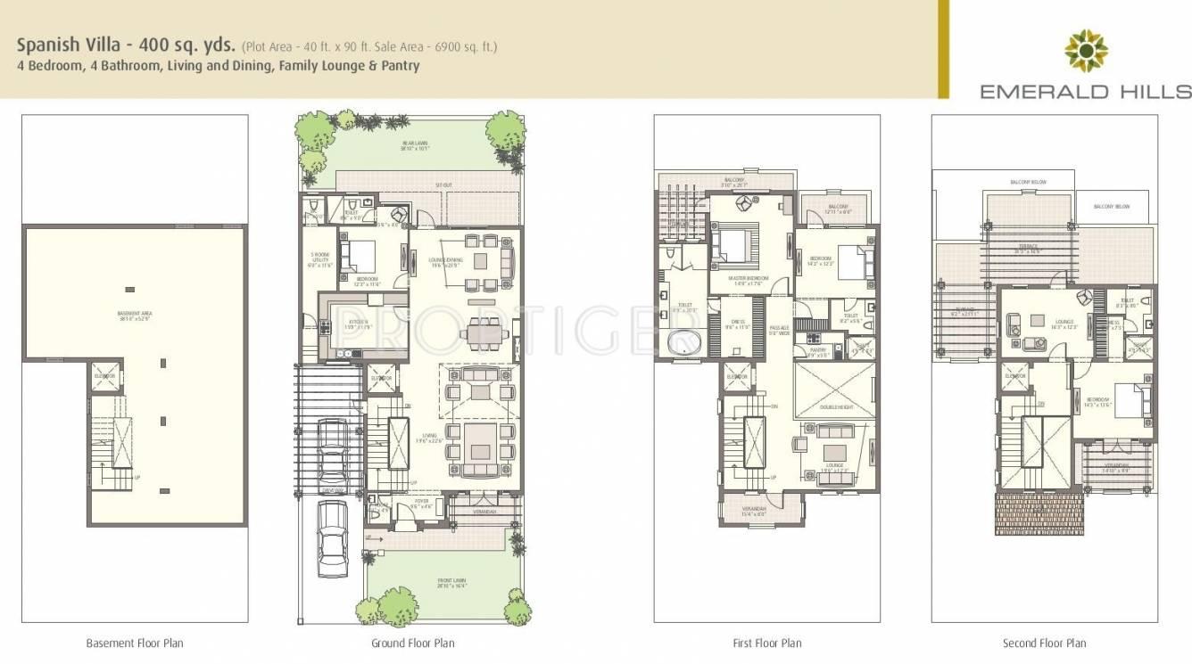 Emaar Mgf Spanish Villa In Sector 65 Gurgaon Price