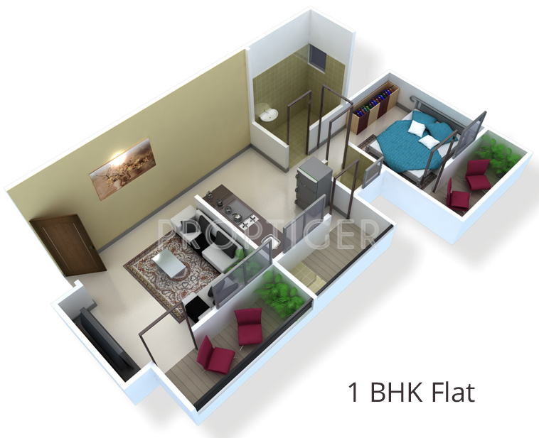 Shah garden resedency in deolali gaon nashik price for Cost of building a 700 square foot house