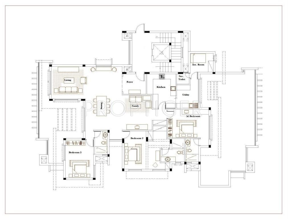 Chowgule meadows in porvorim goa price location map for Real estate floor plan pricing