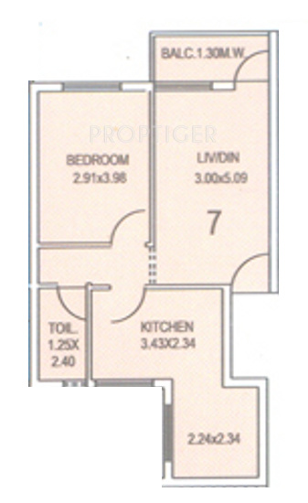 Kurtarkar jairam phase 3 in panjim goa price location for Real estate floor plan pricing
