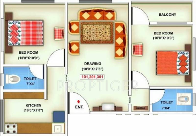 900 sq ft 2 bhk floor plan image shree siddheshwar group for 900 sq ft apartment floor plan