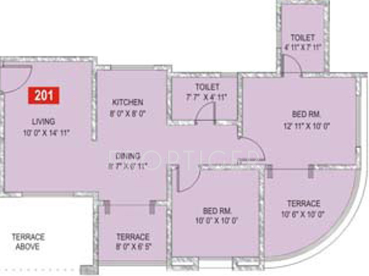 950 sq ft 2 bhk 2t apartment for sale in sukhwani palm for 950 sq ft