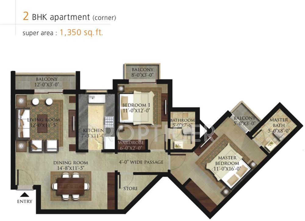 shalimar garden bay apartment in mubarakpur lucknow price location map floor plan reviews proptigercom