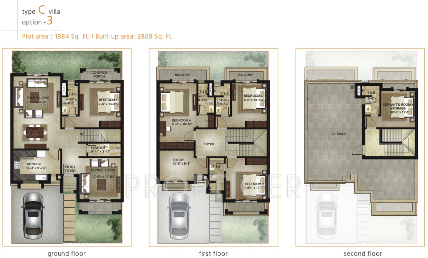 Garden By The Bay Floor Plan shalimar garden bay villa in mubarakpur, lucknow - price, location