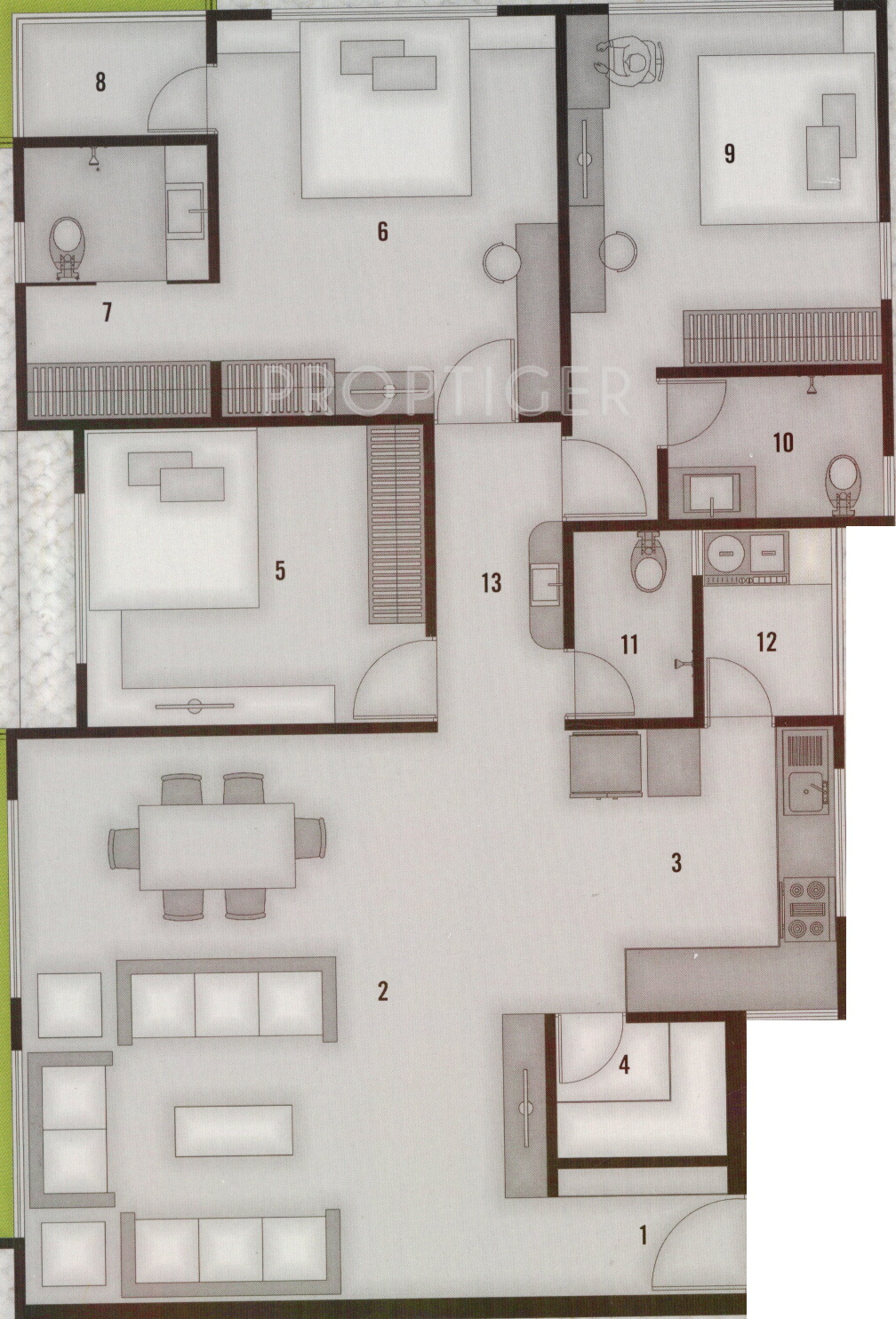 Silicon Luxuria In Pal Gam Surat Price Location Map