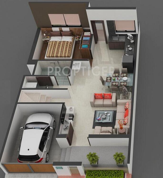 Savani Group Prims Rowhouse in Dindoli Surat Price Location